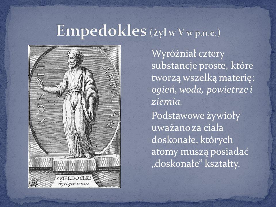 Empedokles (żył w V w p.n.e.)