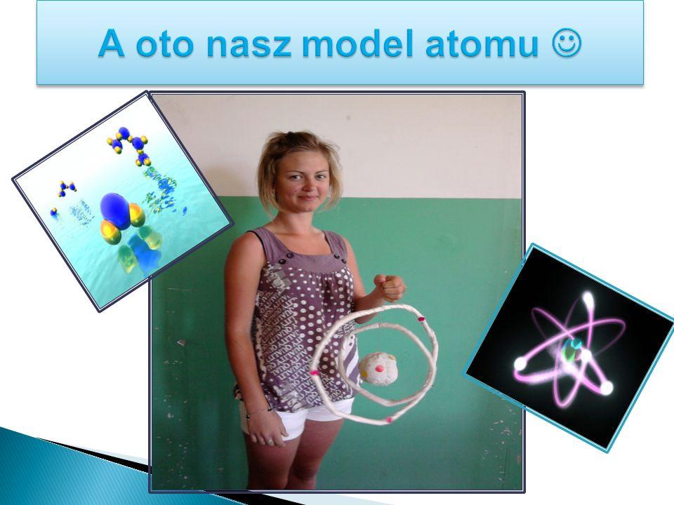 A oto nasz model atomu 