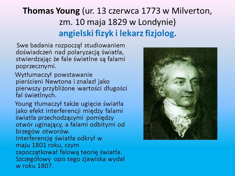 Thomas Young (ur. 13 czerwca 1773 w Milverton, zm