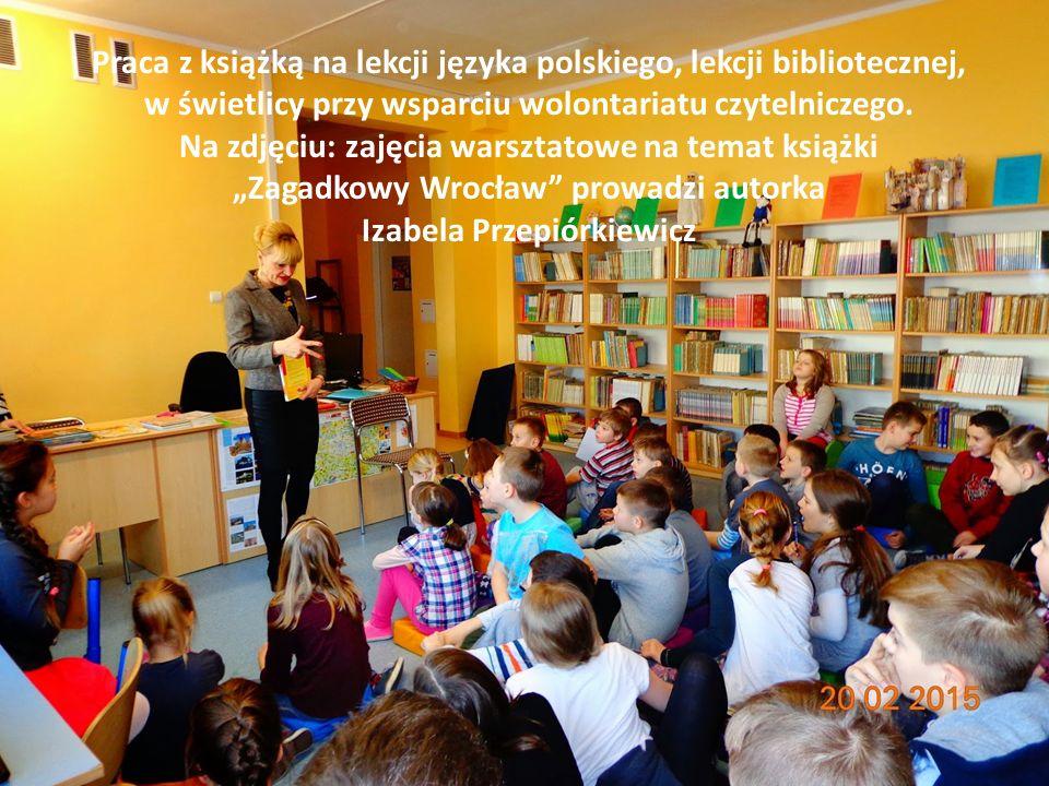 Praca z książką na lekcji języka polskiego, lekcji bibliotecznej,