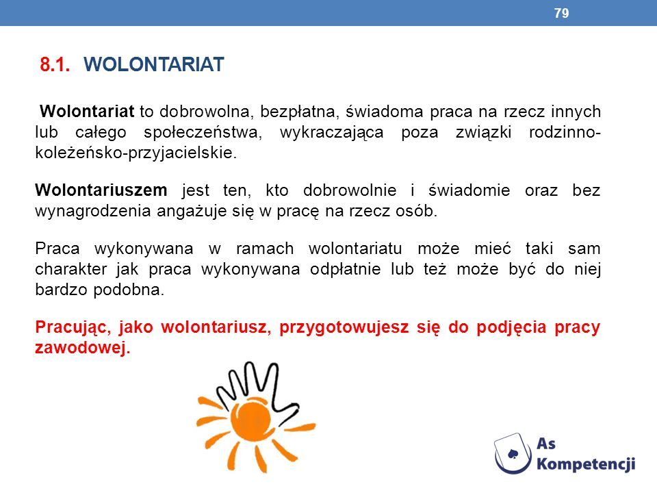 8.1. wolontariat