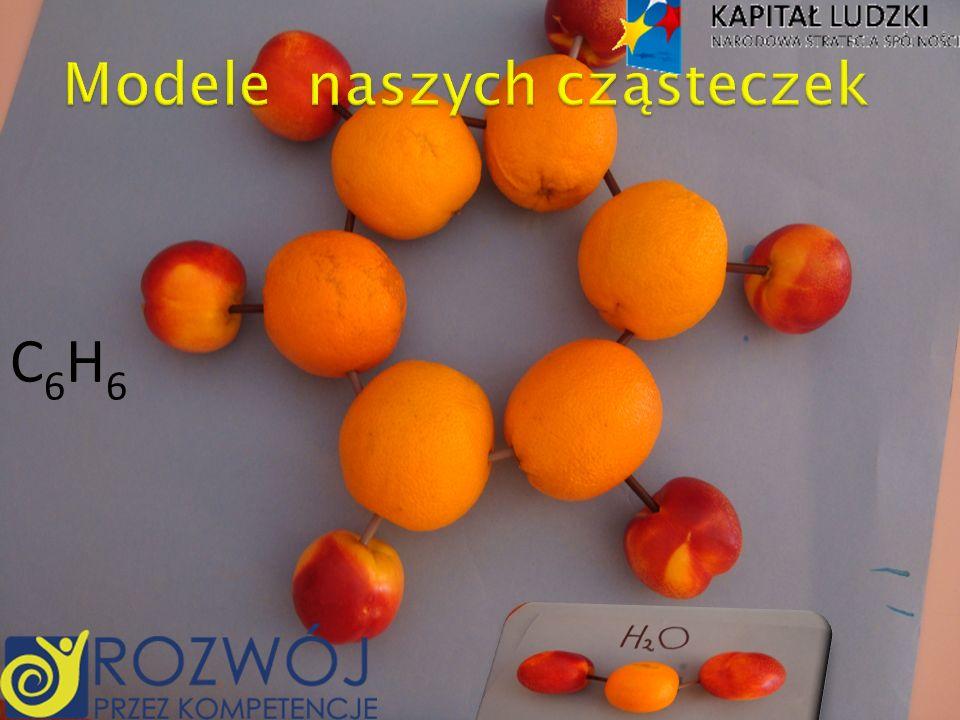 Modele naszych cząsteczek