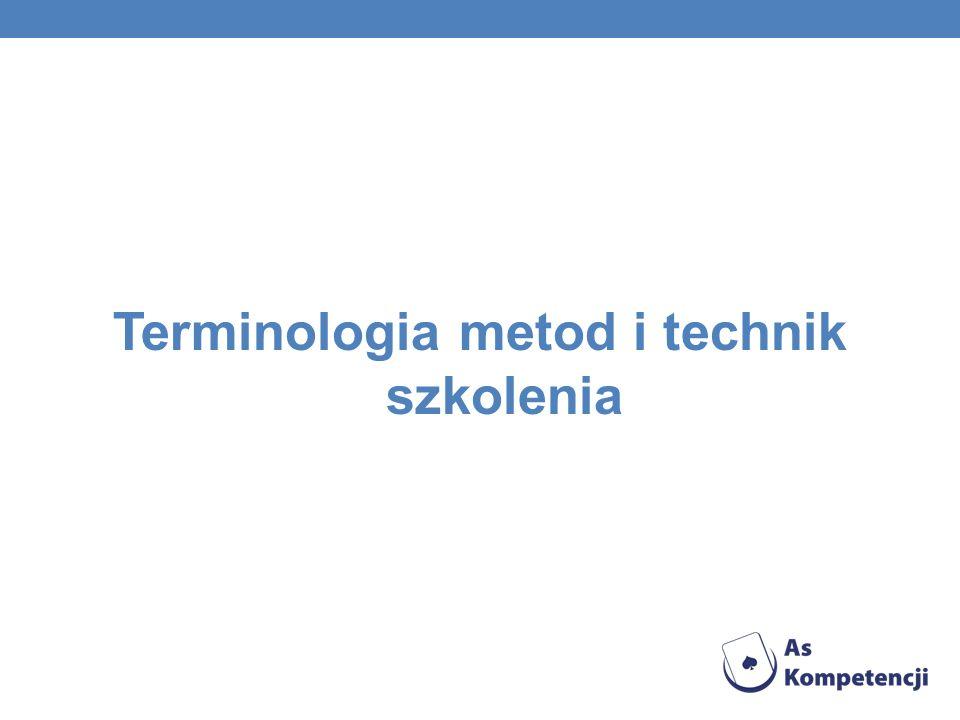 Terminologia metod i technik szkolenia