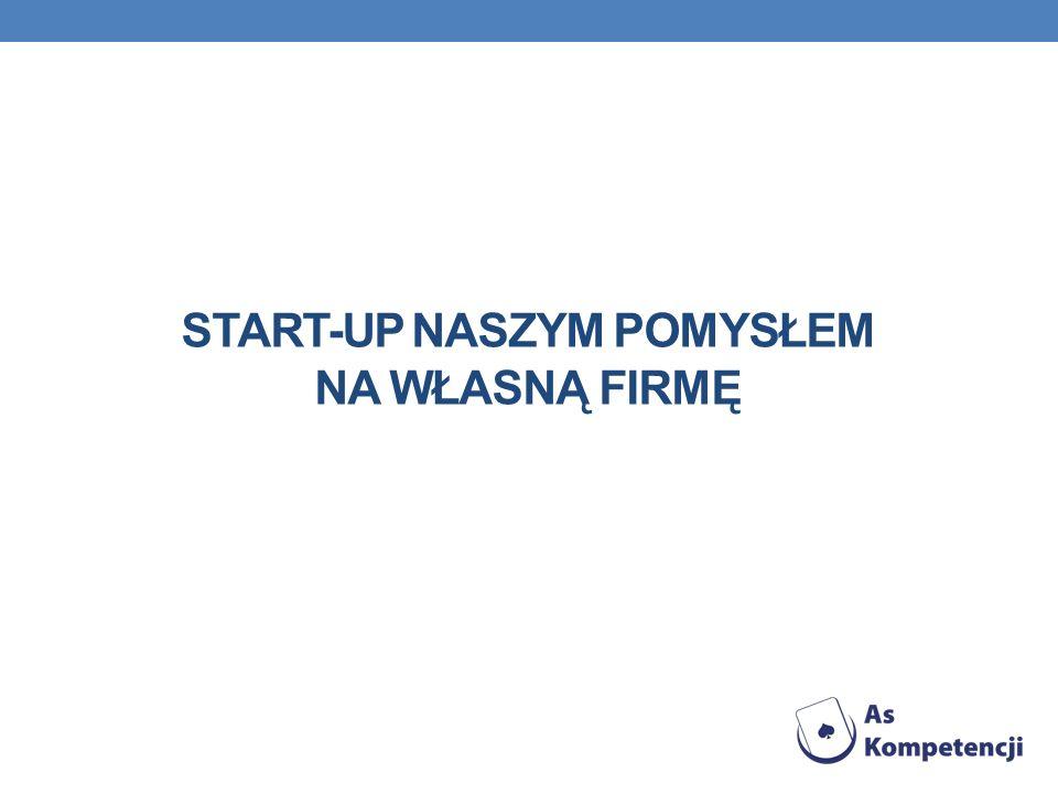 Start-up naszym pomysłem na własną firmę