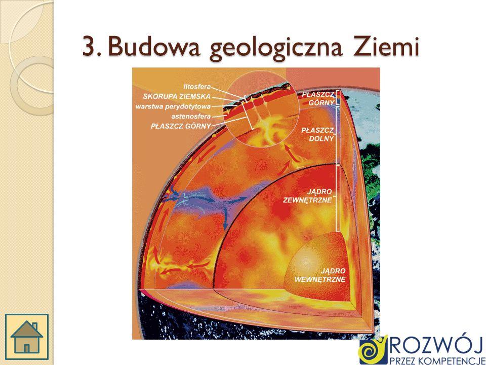 3. Budowa geologiczna Ziemi