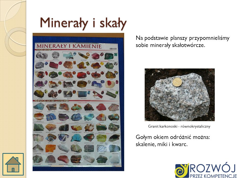 Granit karkonoski - równokrystaliczny