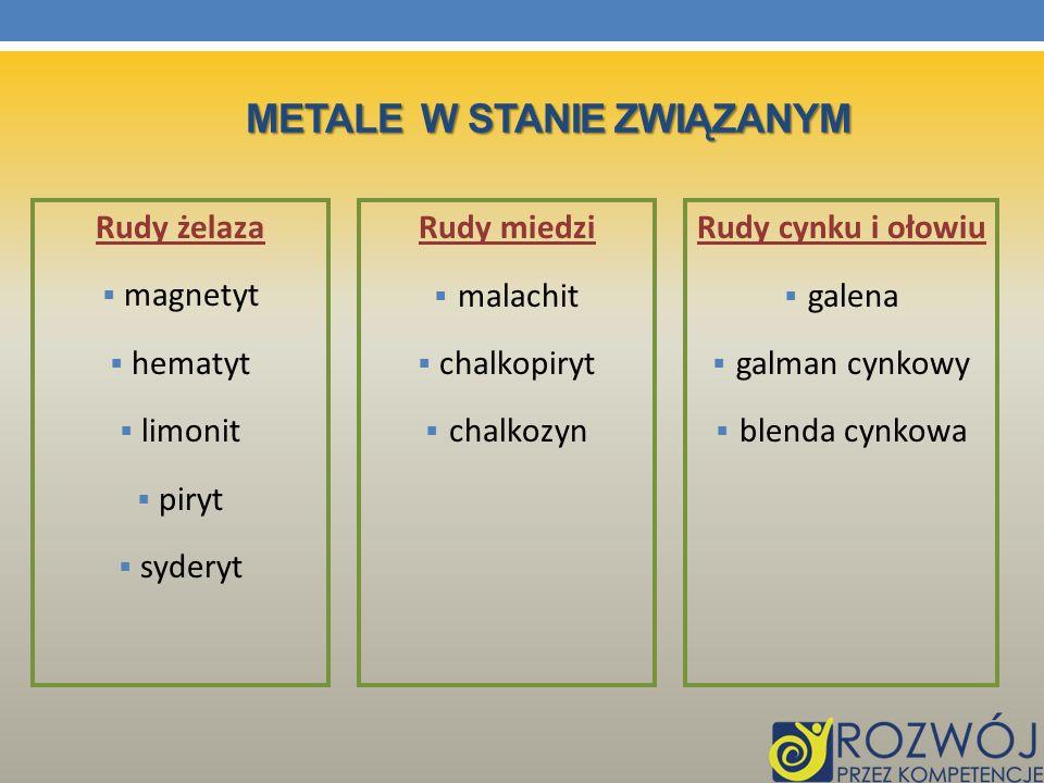 Metale w stanie związanym