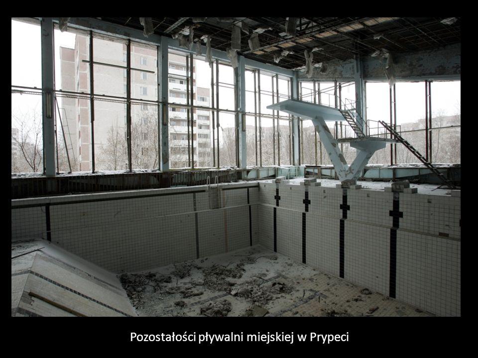 Pozostałości pływalni miejskiej w Prypeci