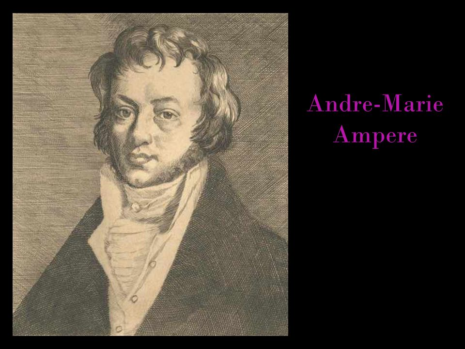 Andre-Marie Ampere