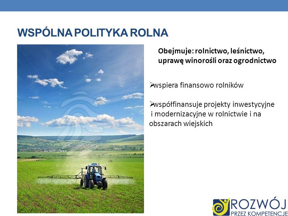 wspólna polityka rolna
