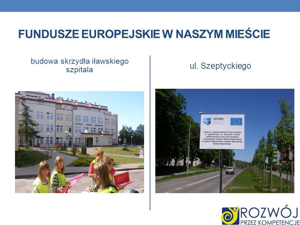 Fundusze europejskie w naszym mieście