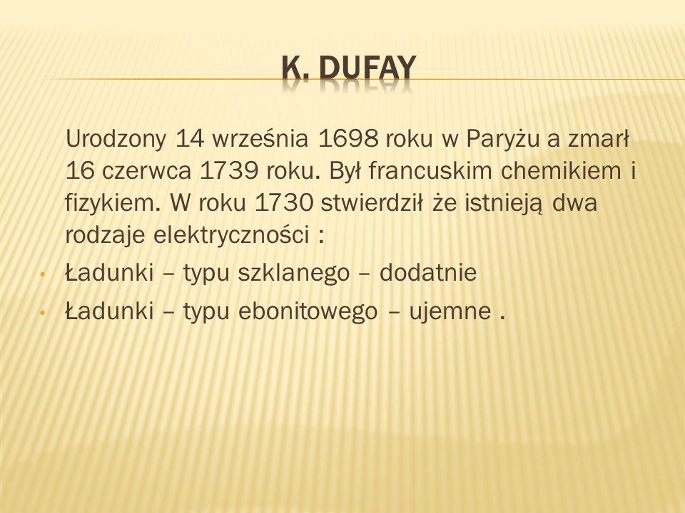 K. Dufay