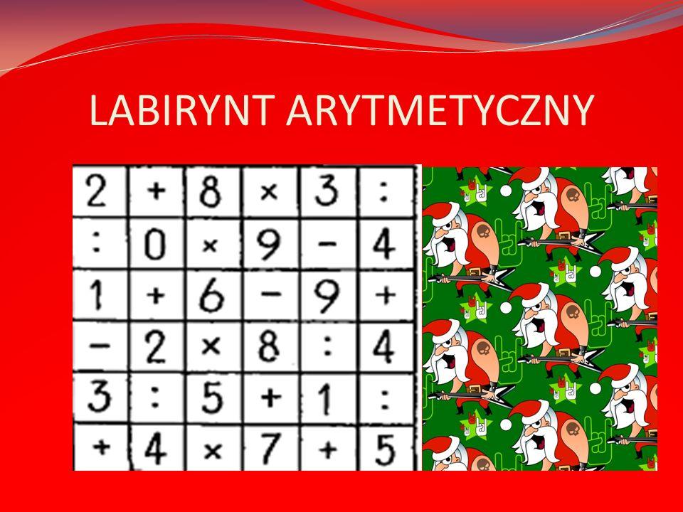 LABIRYNT ARYTMETYCZNY