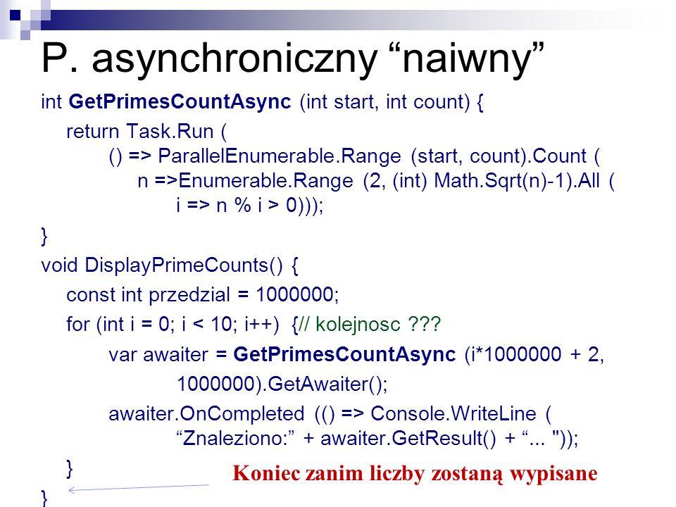 P. asynchroniczny naiwny