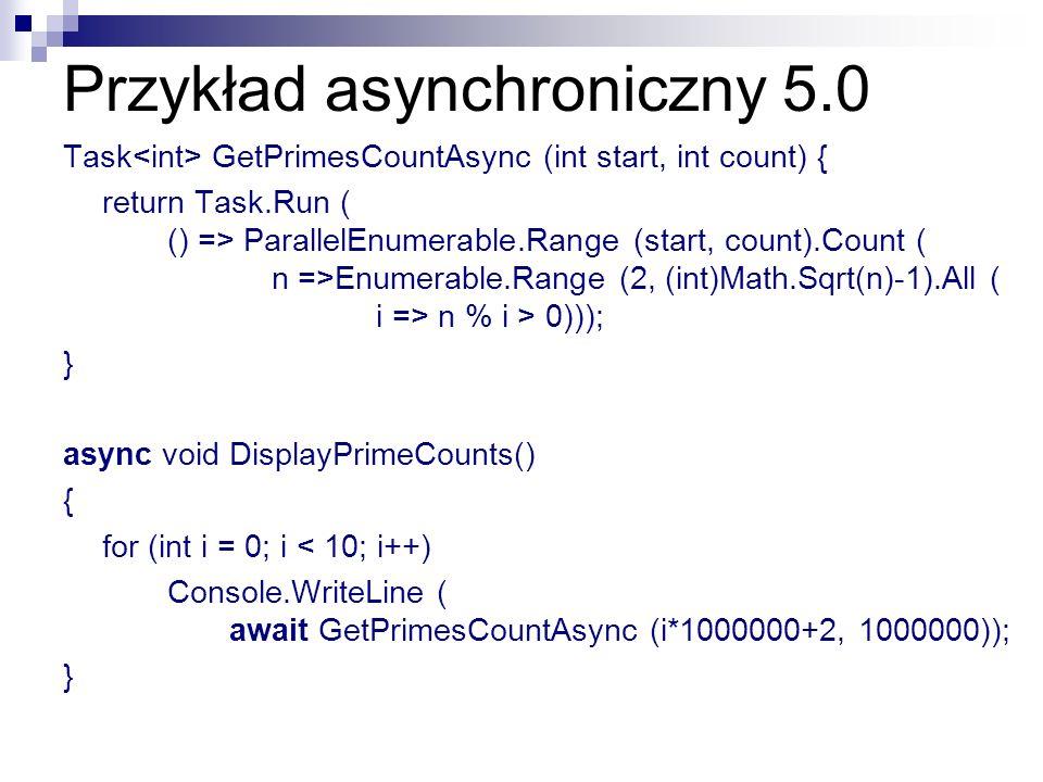 Przykład asynchroniczny 5.0