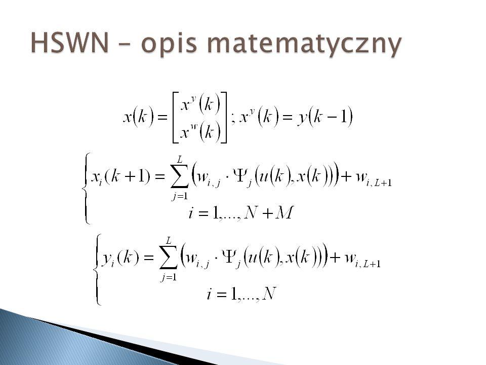 HSWN – opis matematyczny