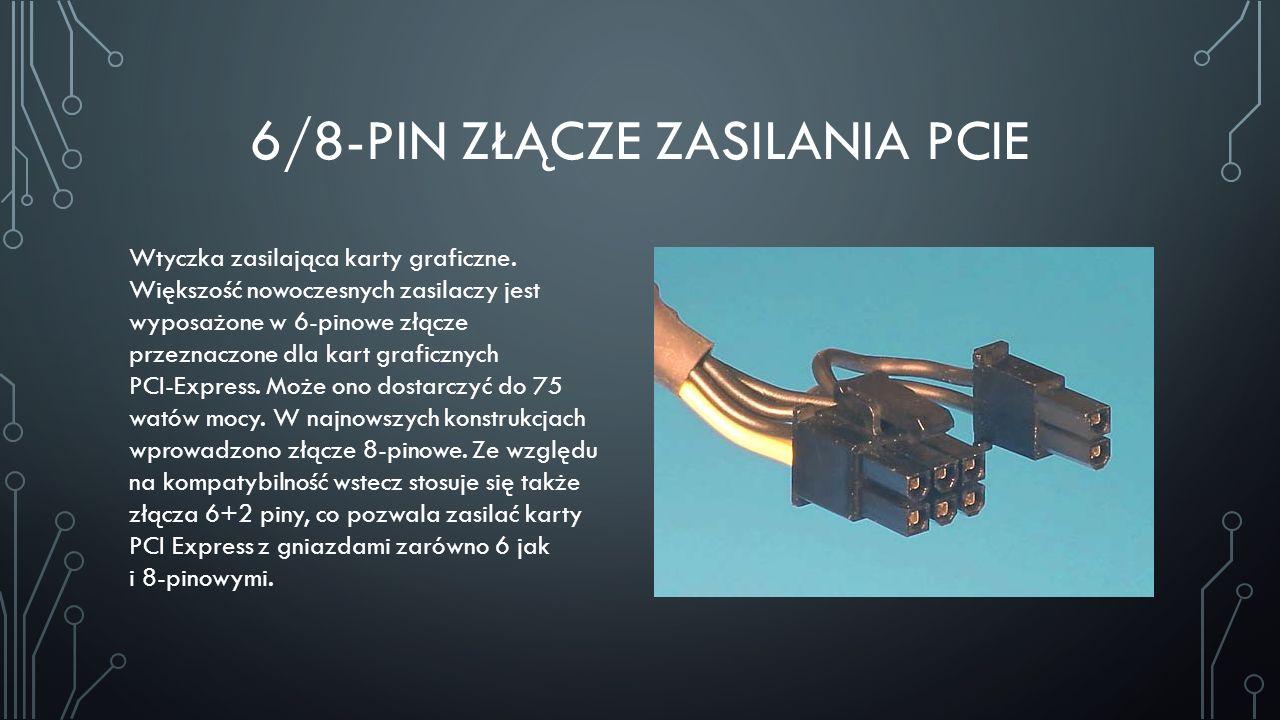 6/8-pin Złącze Zasilania PCIe