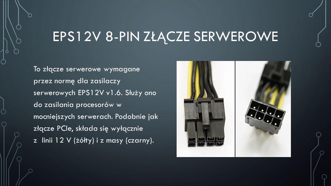 EPS12V 8-pin złącze serwerowe