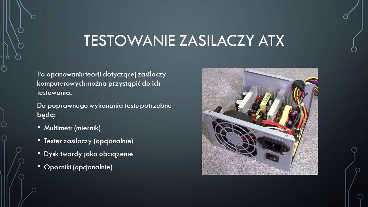 Testowanie zasilaczy ATX
