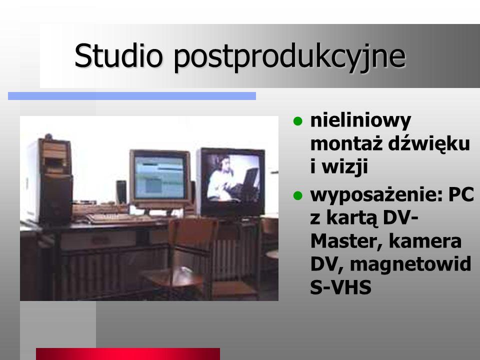 Studio postprodukcyjne