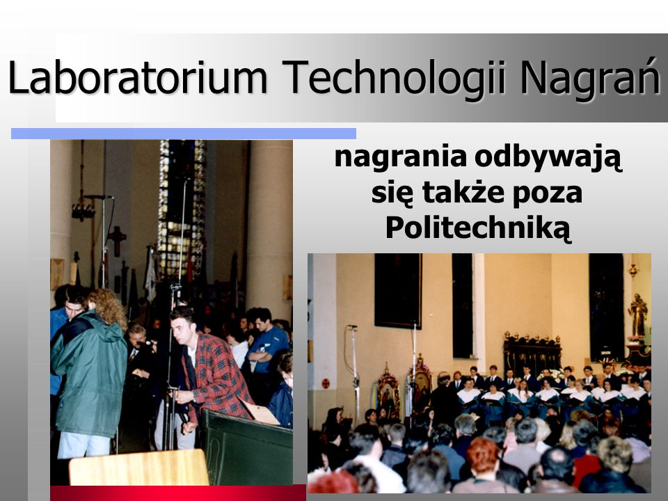 Laboratorium Technologii Nagrań
