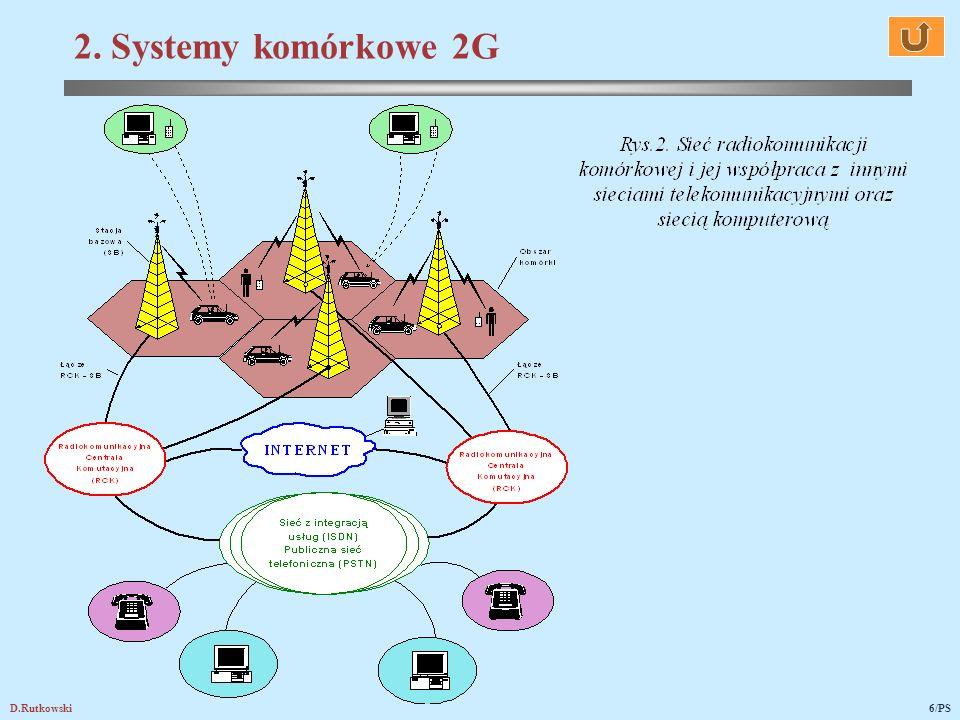 2. Systemy komórkowe 2G D.Rutkowski