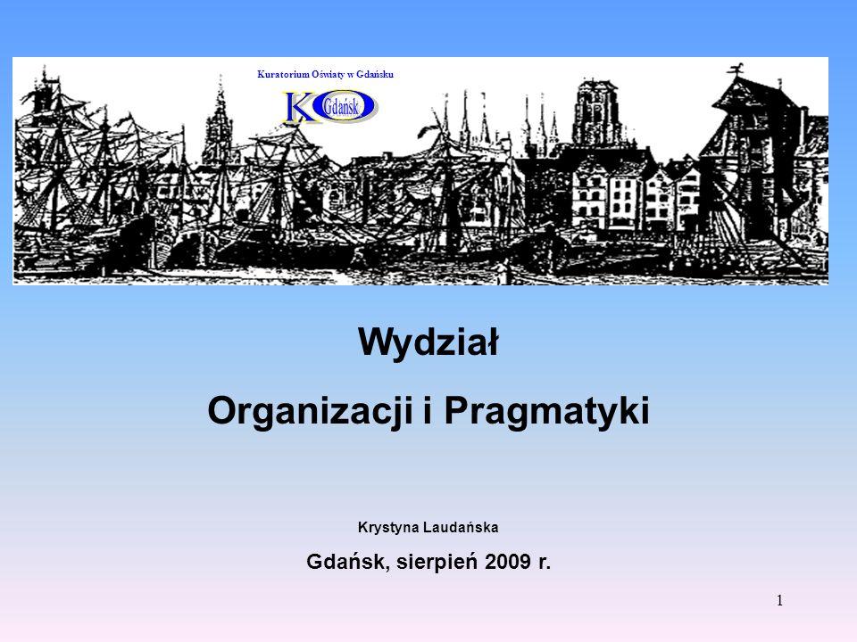Organizacji i Pragmatyki