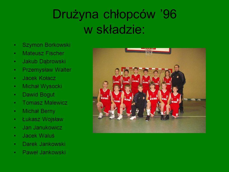 Drużyna chłopców '96 w składzie: