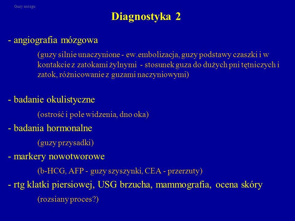 Diagnostyka 2 - angiografia mózgowa