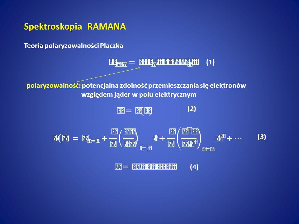 Spektroskopia RAMANA Teoria polaryzowalności Placzka (1)
