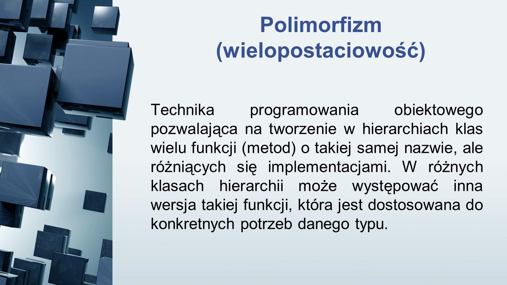 Polimorfizm (wielopostaciowość)