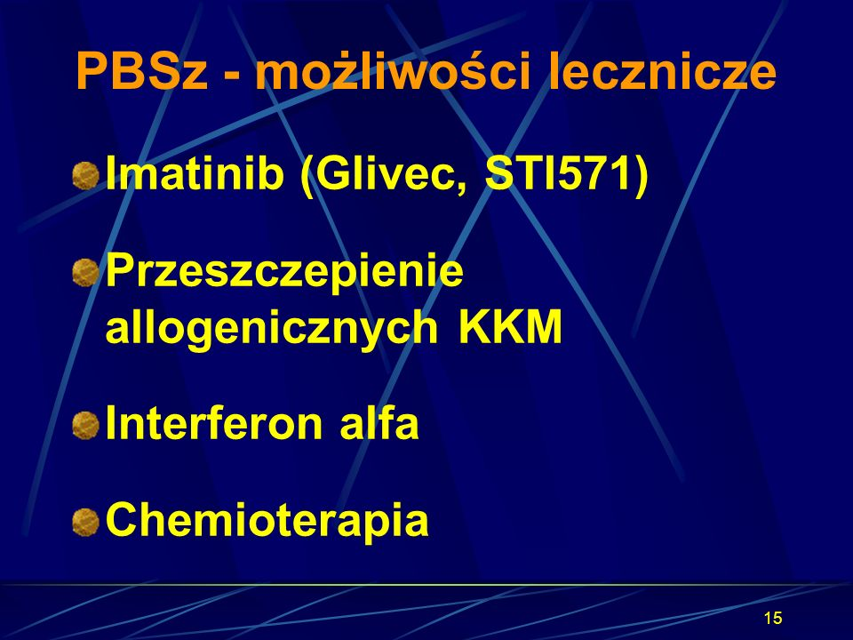 PBSz - możliwości lecznicze