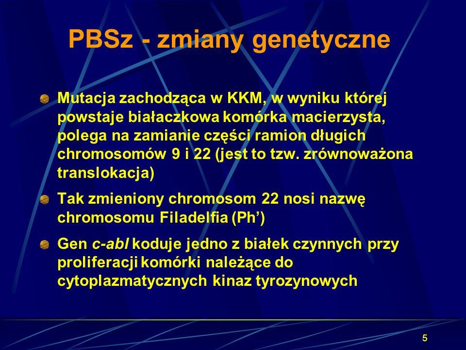 PBSz - zmiany genetyczne