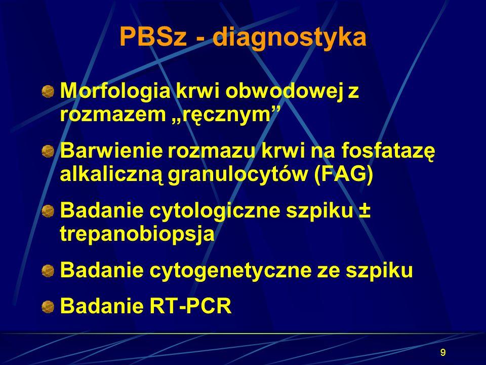 """PBSz - diagnostyka Morfologia krwi obwodowej z rozmazem """"ręcznym"""