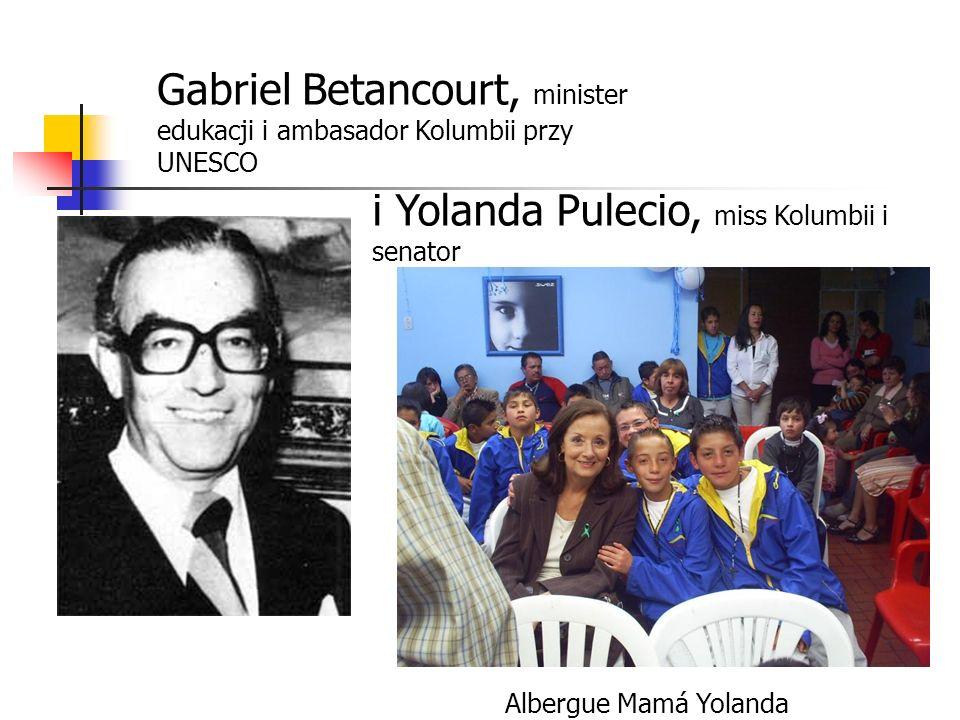 Gabriel Betancourt, minister edukacji i ambasador Kolumbii przy UNESCO