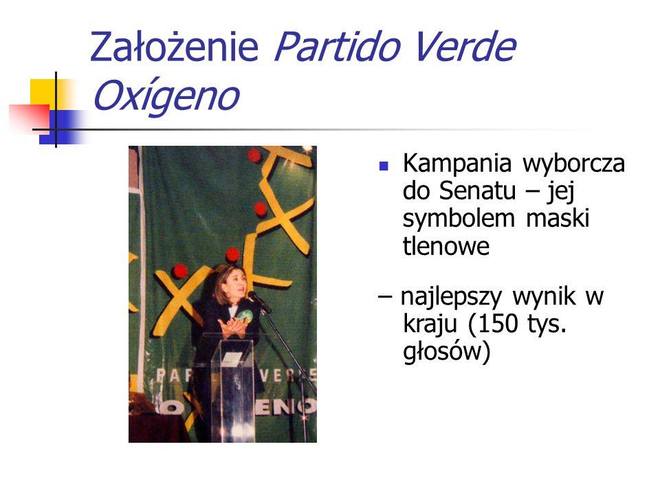 Założenie Partido Verde Oxígeno