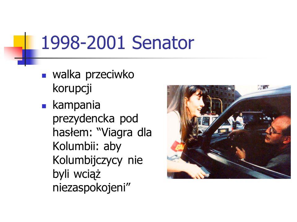1998-2001 Senator walka przeciwko korupcji