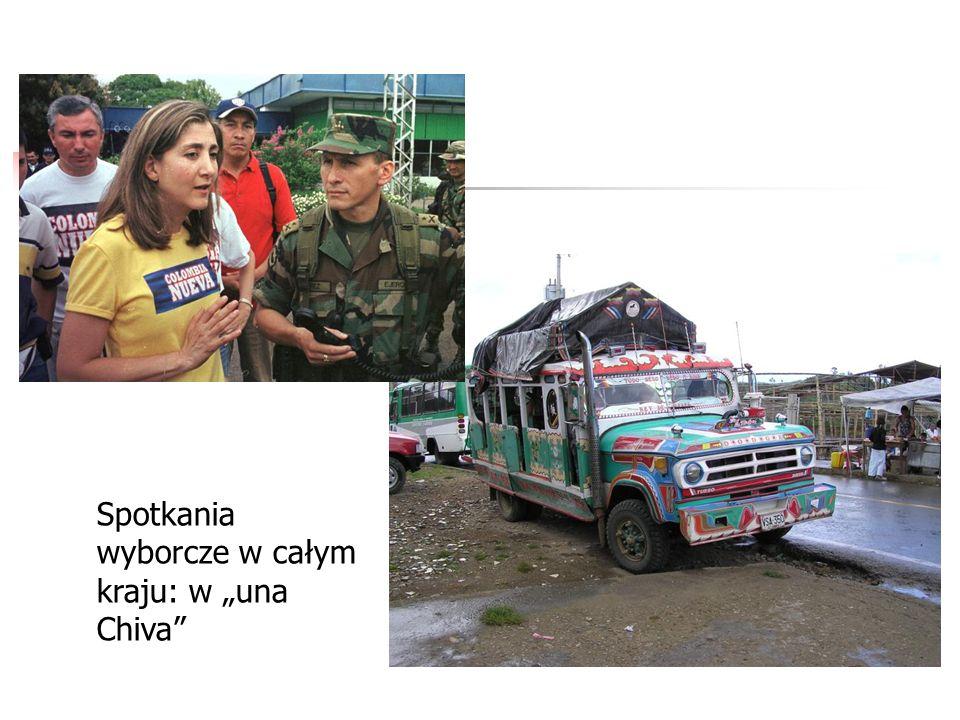 """Spotkania wyborcze w całym kraju: w """"una Chiva"""