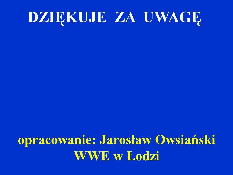opracowanie: Jarosław Owsiański