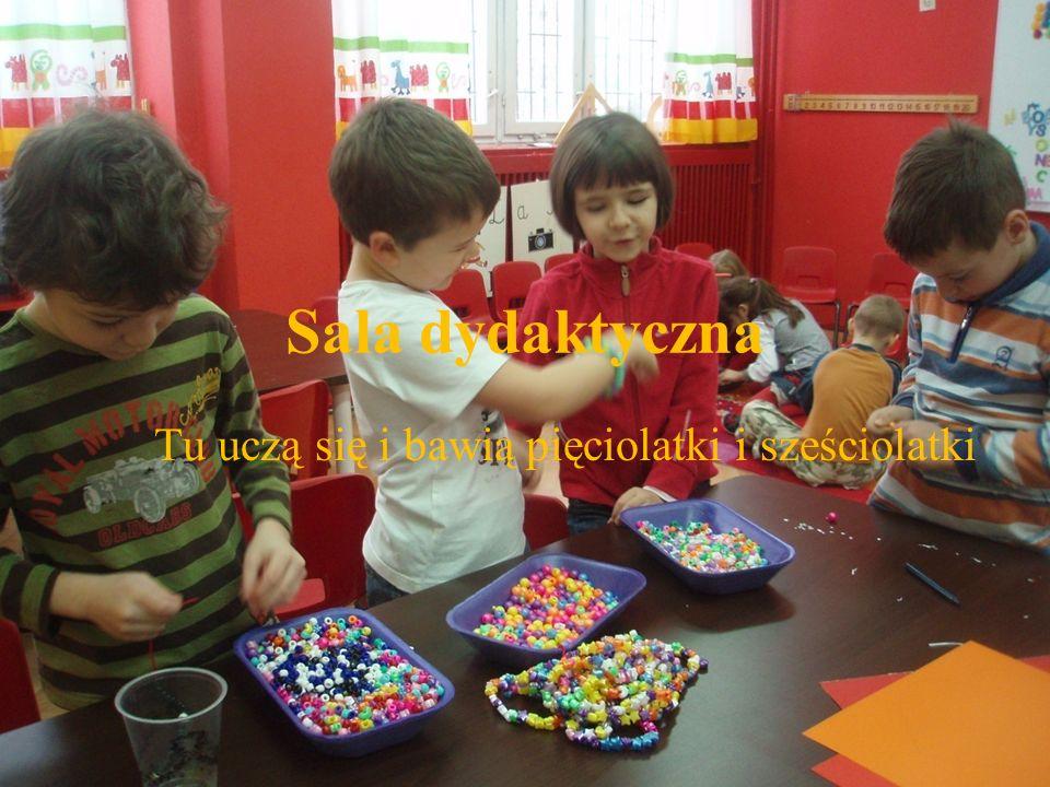 Tu uczą się i bawią pięciolatki i sześciolatki