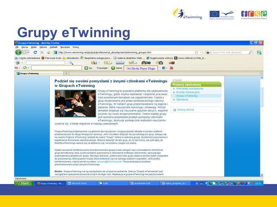Grupy eTwinning