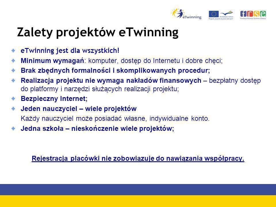 Zalety projektów eTwinning