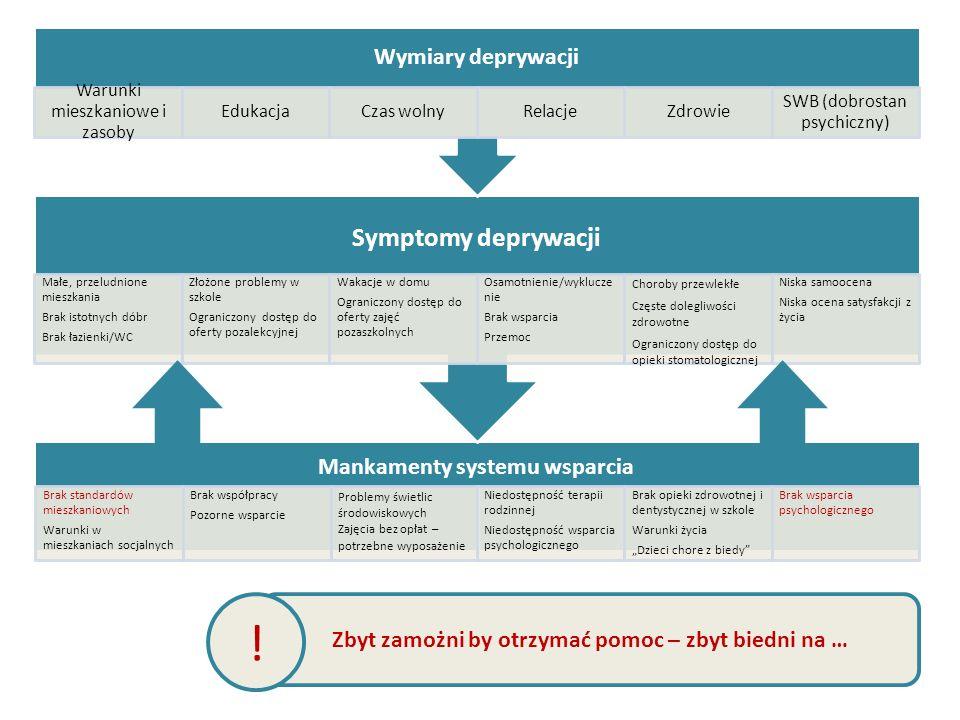 Mankamenty systemu wsparcia