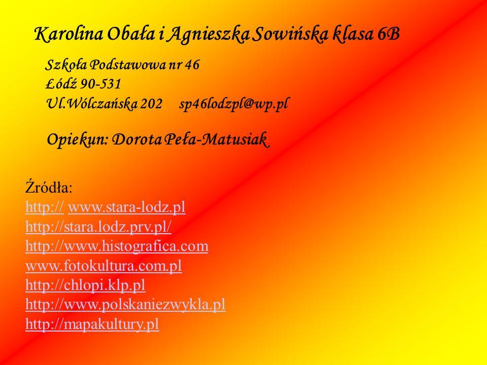 Karolina Obała i Agnieszka Sowińska klasa 6B