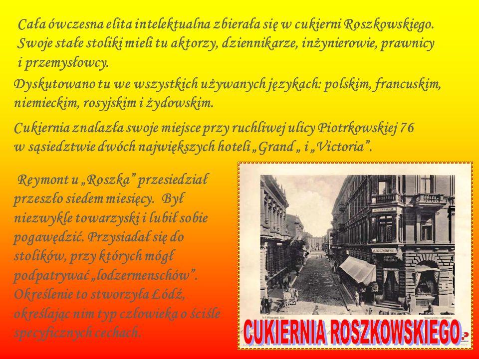 CUKIERNIA ROSZKOWSKIEGO