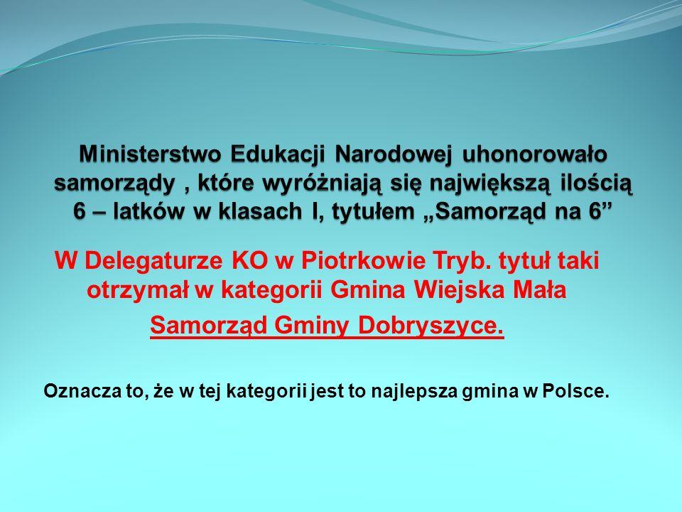 Samorząd Gminy Dobryszyce.