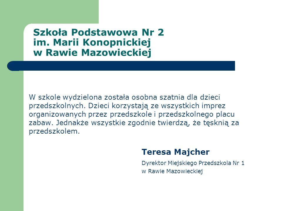 Szkoła Podstawowa Nr 2 im. Marii Konopnickiej w Rawie Mazowieckiej