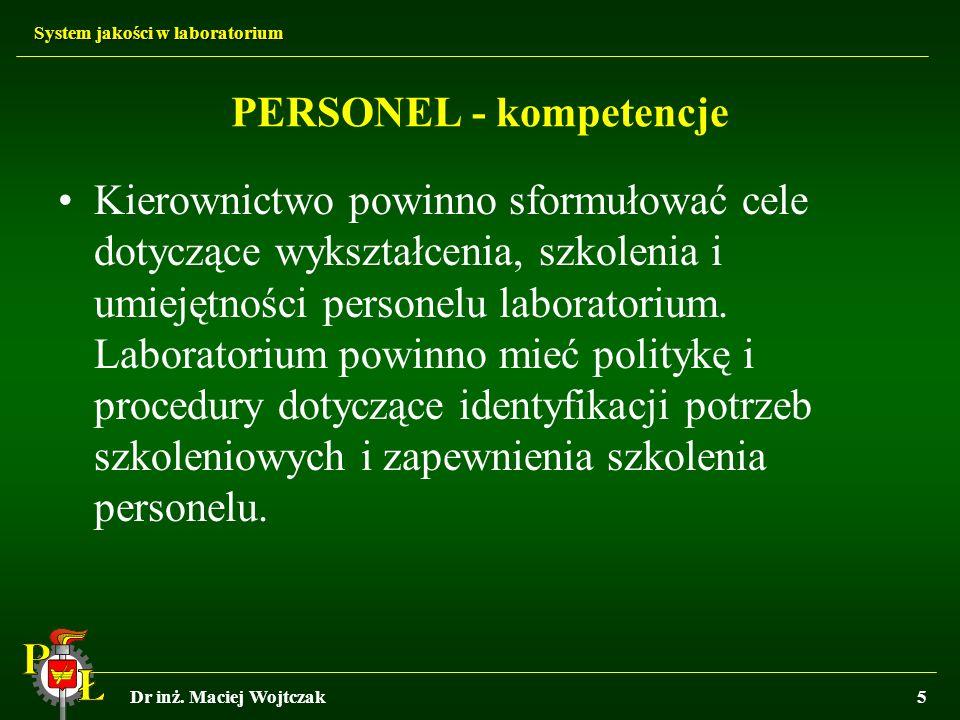 PERSONEL - kompetencje