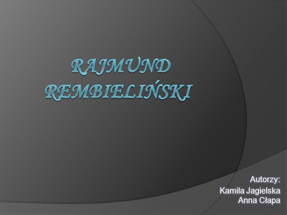 Autorzy: Kamila Jagielska Anna Cłapa