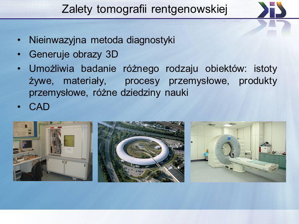 Zalety tomografii rentgenowskiej